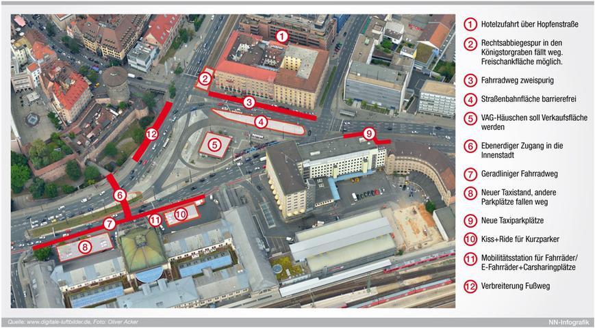 Alle Pläne für den Bahnhofsvorplatz hier in der Übersicht. Was stört Sie am Bahnhofsvorplatz? Diskutieren Sie in unserem Leserforum.