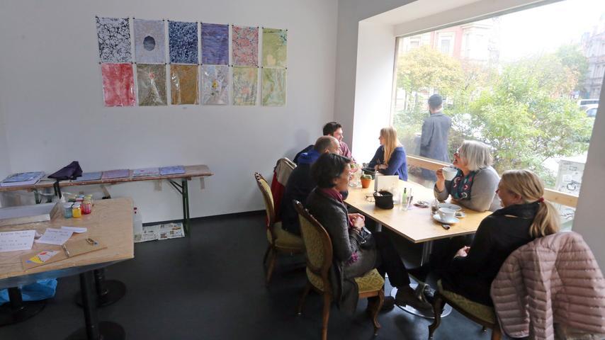 Motiv: Gostenhofer Ateliertage für den Blitz....Datum: 17.10.2015....  ..Fotograf: Roland Fengler....Ressort: Lokales ....Exklusiv