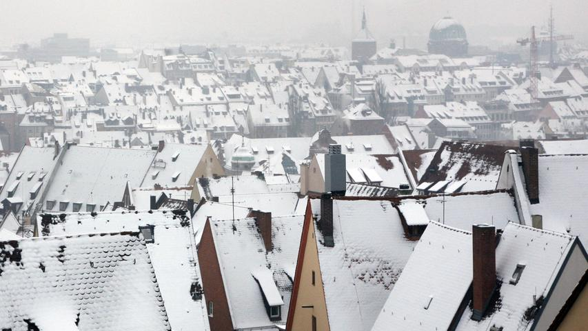 Auch 2009 wurde es eisig in Nürnberg.
