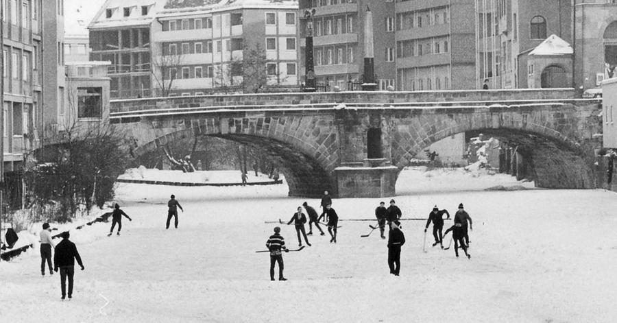 Auch Nürnberg traf diese Monate mit all ihrem Frost und Schnee. Die Stadtverwaltung befürchtete damals,
