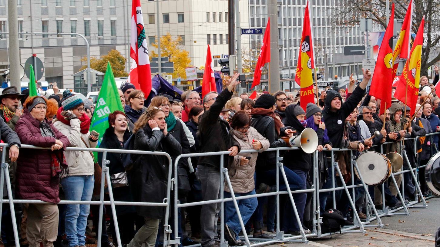 Am Sonntag, 11. März, findet  auf dem Jakobsplatz eine Gegenkundgebung zum Treffen von Pegida Nürnberg statt.