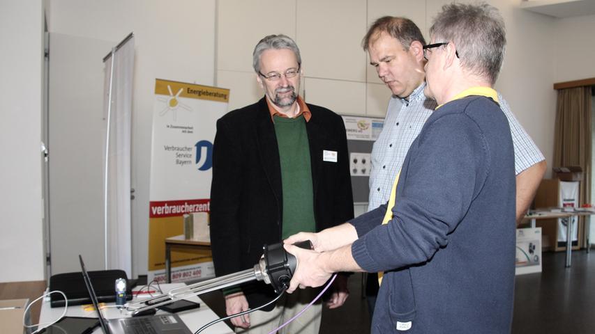 Dieter Emmerich,  Michael Fischer und Johann Karl (von links).