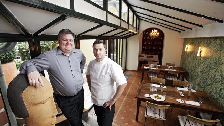 Bieten auch mittags exquisite Küche: Christian Wonka und sein Chefkoch Kemal Besirevic in ihrem Restaurant