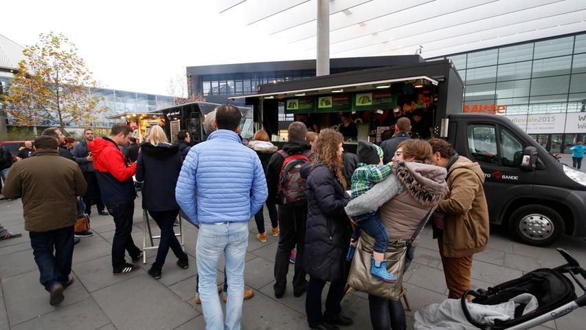 Nuernberg , 13.12.2015..Ressort: Lokales Fotografie: Stefan Hippel..Messe  Nuernberg , Street Food Market , Burritoband..