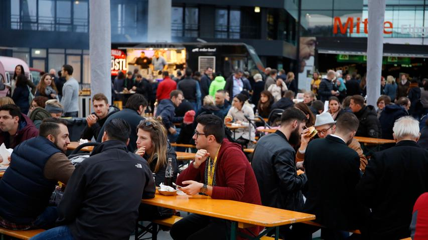 Nuernberg , 13.12.2015..Ressort: Lokales Fotografie: Stefan Hippel..Messe  Nuernberg , Street Food Market ,..