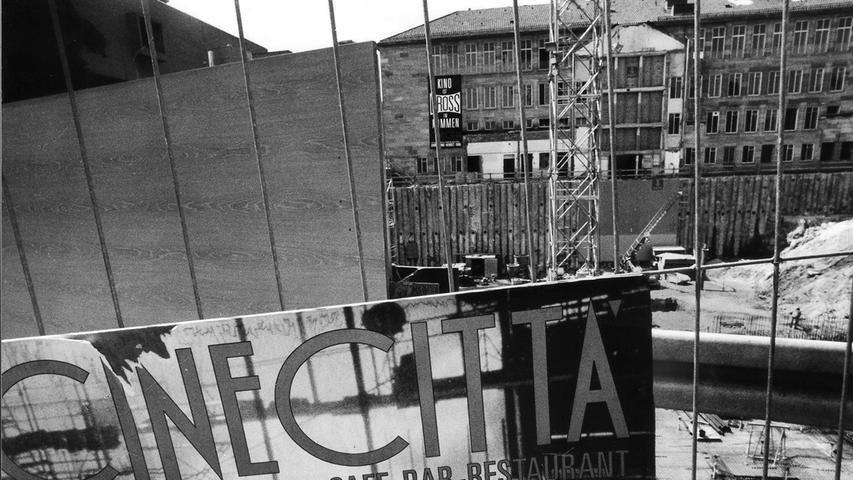 Großes Kino: Wie das Cinecitta in Nürnberg entstand