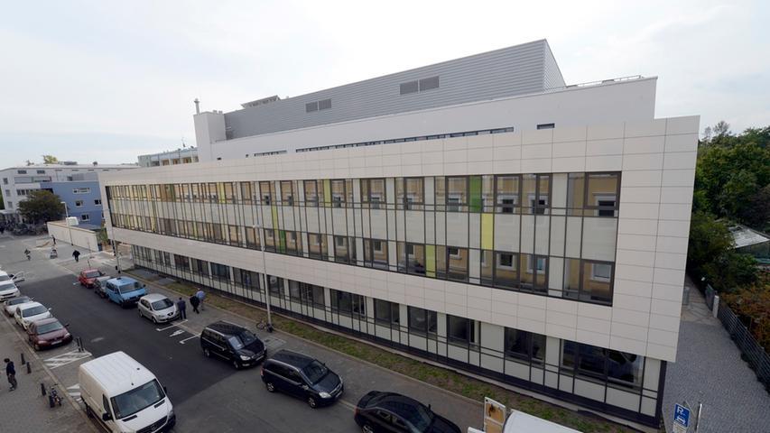 Erlangen: Erweiterungsbau der Kinderklinik (C-Bau) eingeweiht. 22.09.2015.  Foto: Harald Sippel