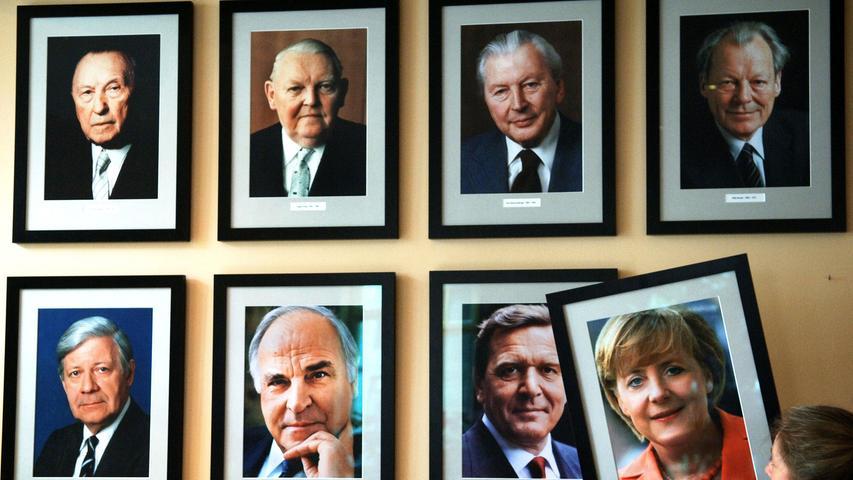 Am 18. September 2005 holte die CDU/CSU 35,2 Prozent der Stimmen. Angela Merkel wurde am 22. November als erste Frau mit der Mehrheit des Deutschen Bundestags zur Bundeskanzlerin gewählt.