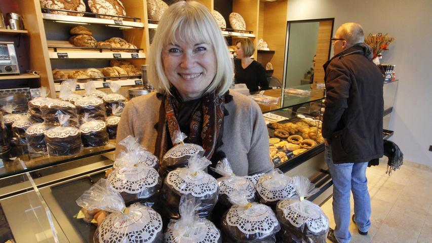 Feine Lebkuchen gibt es auch bei der Bäckerei Imhof an der Dürrenhofstraße. Dass es dort schmeckt, hat auch schon die Redaktion des Magazins