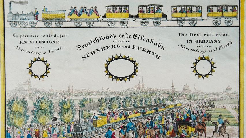Der Ludwigsbahnhof war auch das Ziel des berühmten