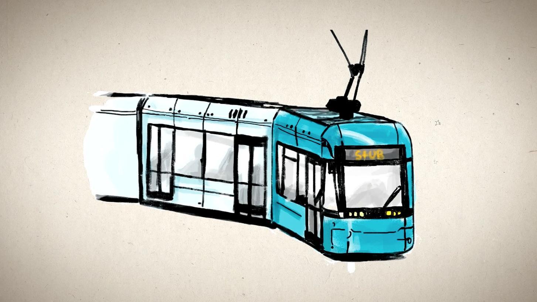 Die Stadt-Umland-Bahn nimmt Fahrt auf - schon bald kann der Zweckverband seine Arbeit aufnehmen.