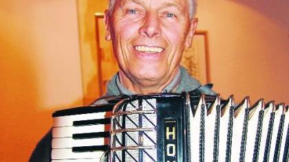 Radfahren ist für Horst Duschl nicht alles: Der Jubilar frönt auch der Liebe zur Musik.