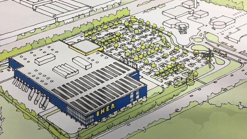 Mit der neuen Filiale feiert Ikea nach über 35 Jahren ein Comeback in Nürnberg – bereits von 1979 bis 1981 hatte der Möbelriese eine sogenannte Start-Boutique in der Noris.