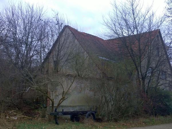 Das Anwesen steht seit 1979 leer und ist ziemlich zugewachsen.