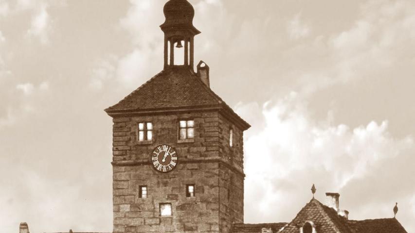 Die Schwabacher Wehrbefestigung ist seit 1897 Geschichte