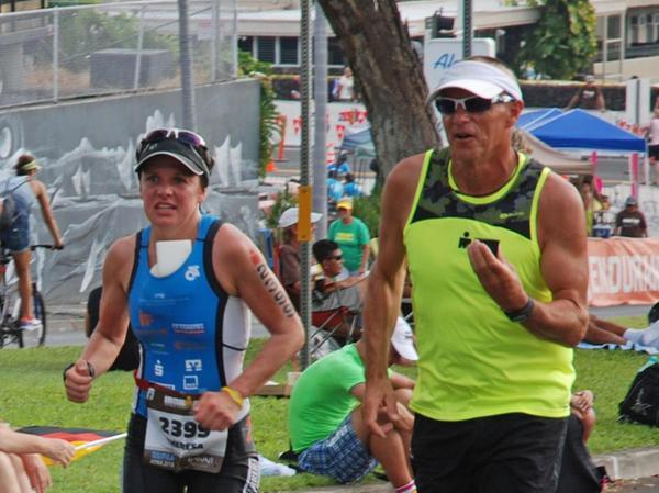 96 Meilen bis zum Vulkan musste Theresa Wild beim Ironman auf Hawaii an dieser Stelle zwar nicht mehr laufen. Aber auch ein Marathon nach 3,86 km Schwimmen und 180 km Radfahren sind ja ein ganz schöner Schlauch.