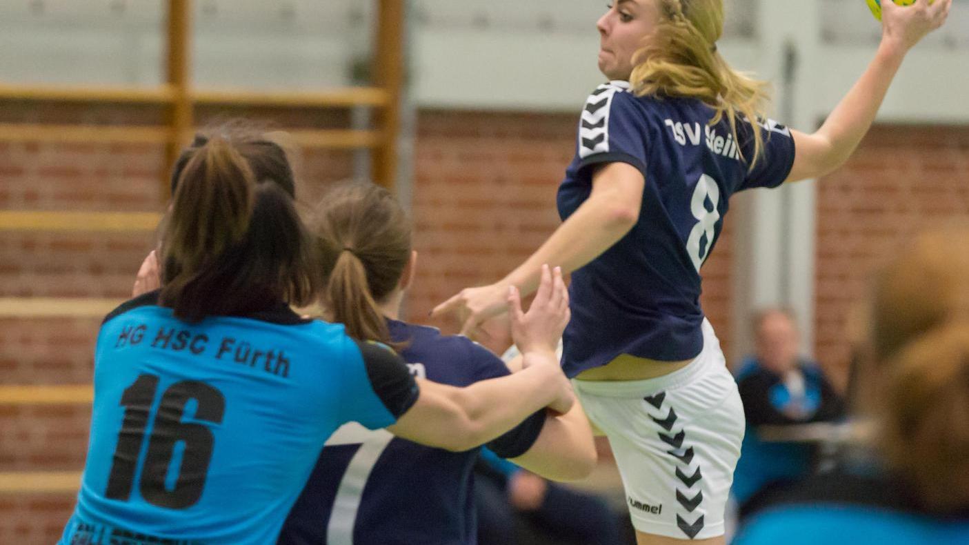 Treffsicher waren auch die Frauen des TSV Stein, die die HG/HSC klar besiegten.