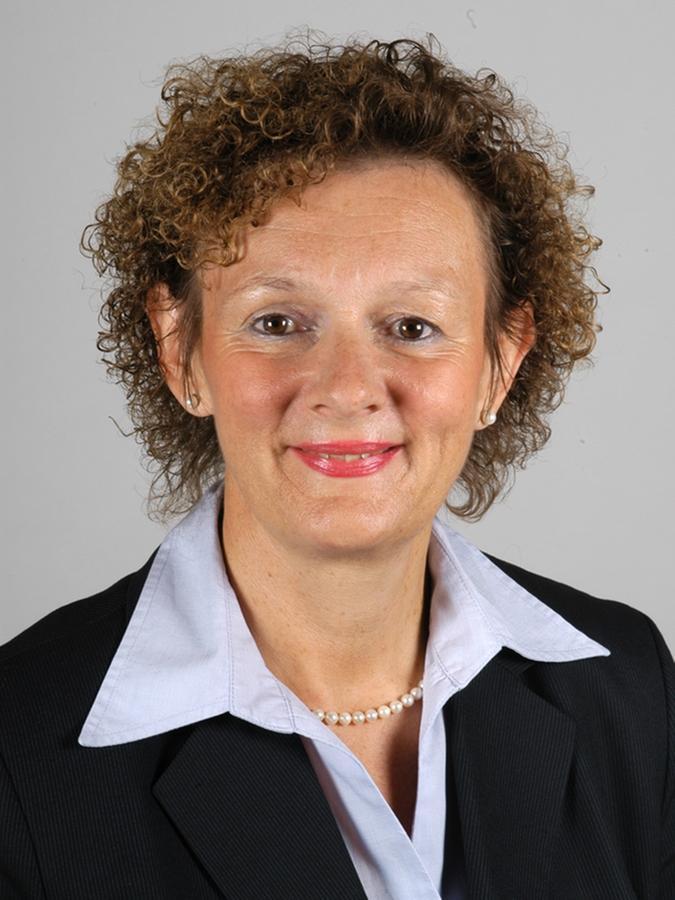 Polizeipressesprecherin Elke Schönwald.