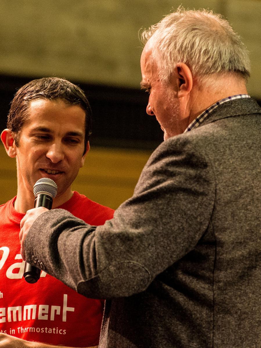 Ausdauerläufer Joseph Katib hat bei der Wahl zum Sportler des Jahres Rang zwei erreicht.