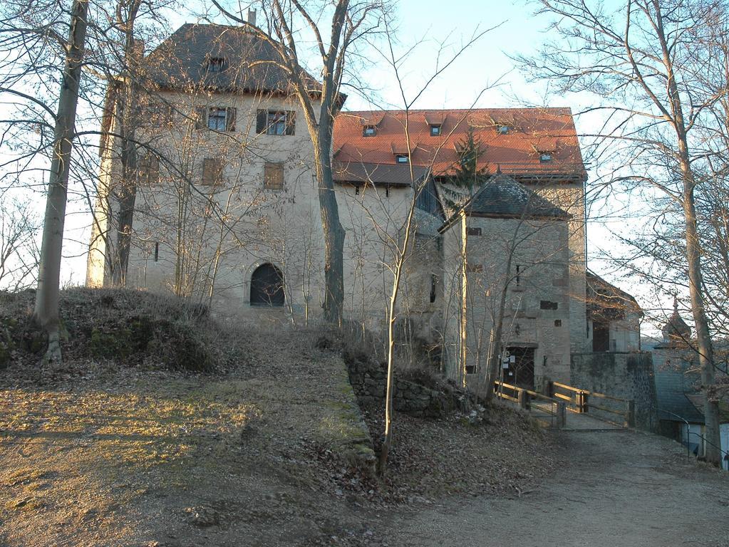 FOTO: German. Nationalmus. über. 1 / 2016 im Kontext Heldbg. und Burgenmus...MOTIV: Burg Rabeneck...Außenansicht...Kontext: Schönste Burgen in Franken