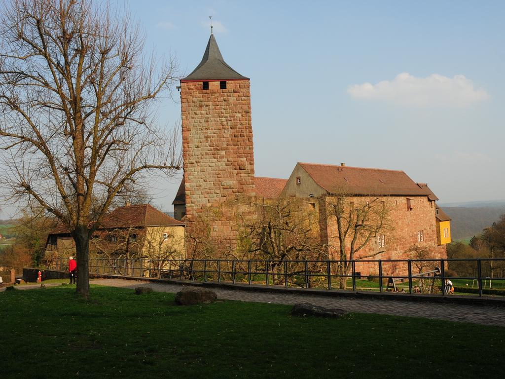FOTO: German. Nationalmus. über. 1 / 2016 im Kontext Heldbg. und Burgenmus...MOTIV: Burg Rothenfels, Mainschleife...Außenansicht...Kontext: Schönste Burgen in Franken