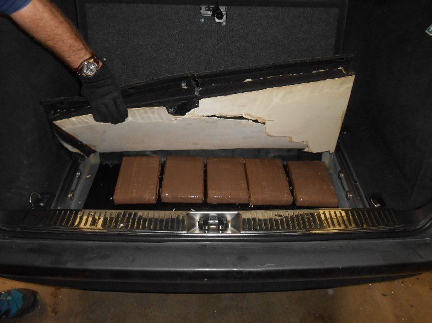 Kokain Koferraum