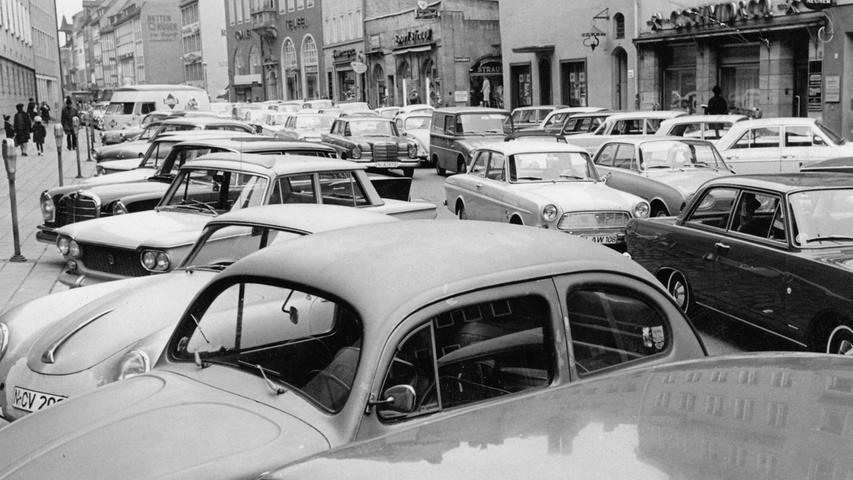 Die Nürnberger Innenstadt im Wandel der Zeit