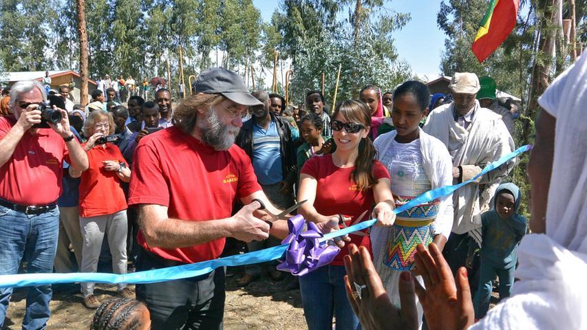 Der Circus Sambesi in Äthiopien