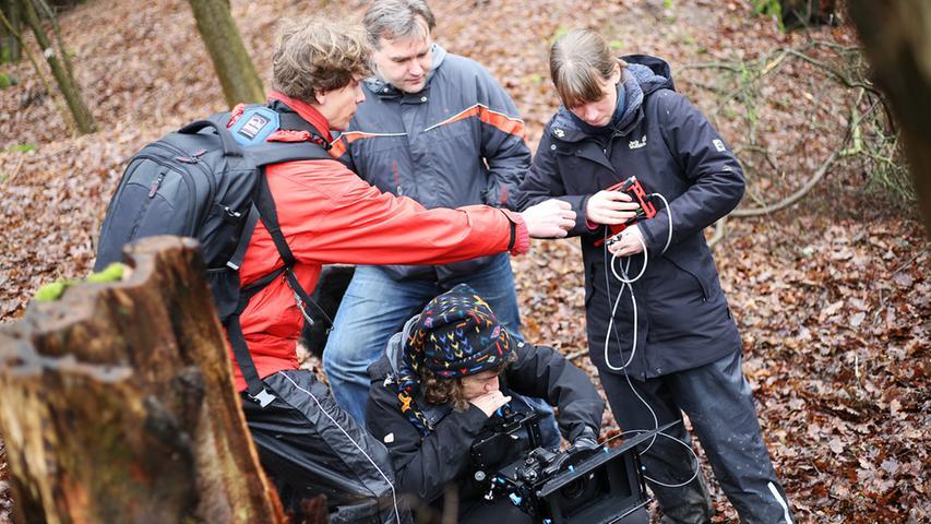 Intensive Momente: Dreharbeiten zum Kurzfilm