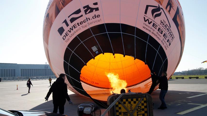 Hoch hinaus über Nürnberg: Bilder vom Frankenballoncup 2016