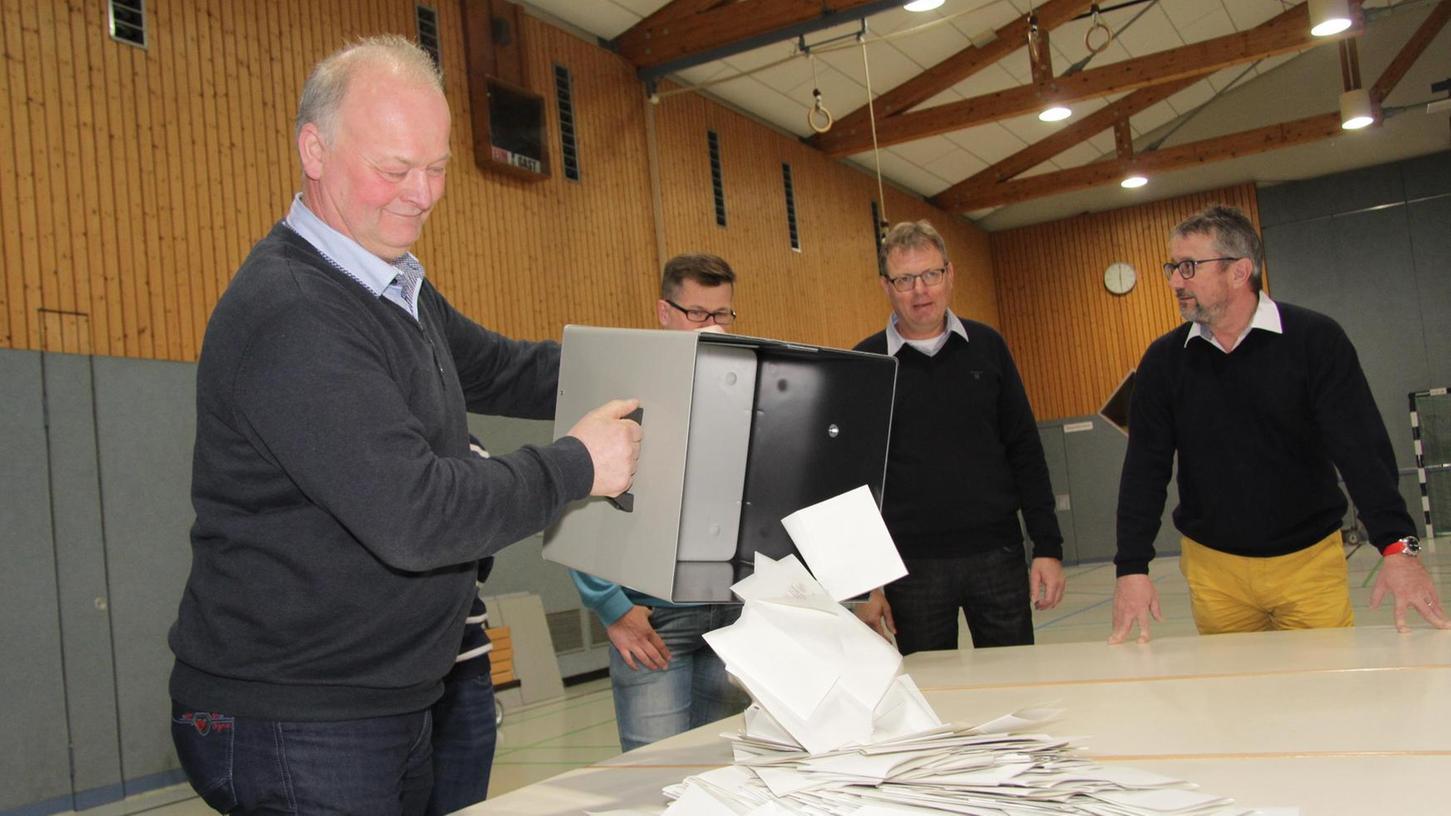Eine hohe Wahlbeteiligung hat es beim Bürgerbegehren pro oder contra Windkraft in Wachenroth gegeben.