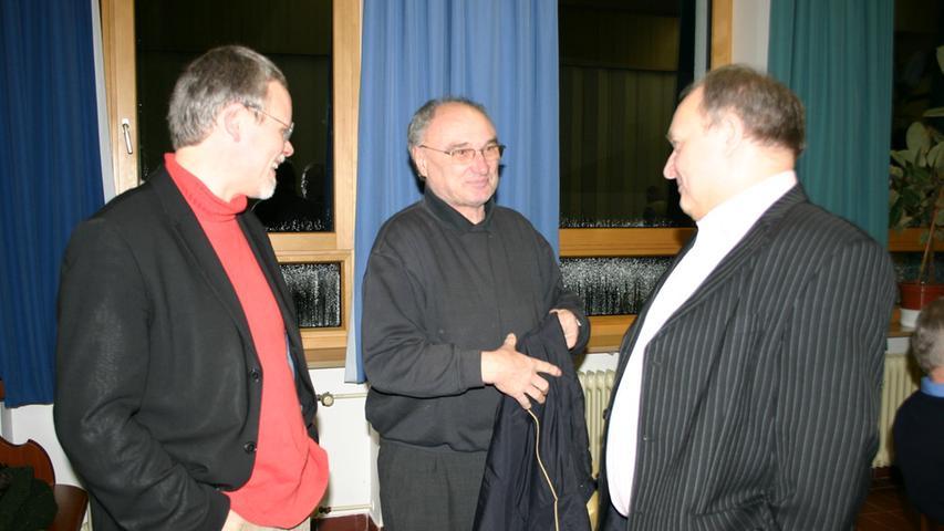 Auch beim Dämmerschoppen der evangelischen Kirchengemeinde Pegnitz war Walter Wagner schon zu Gast.