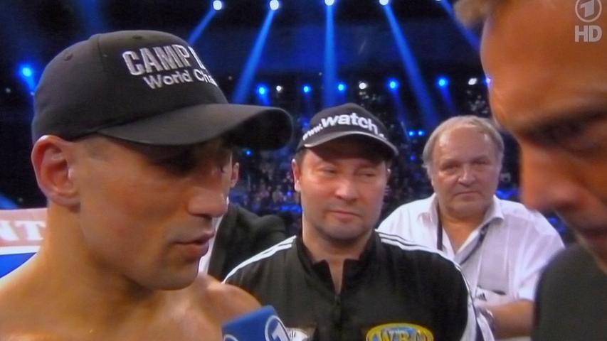 Legendäre Kämpfe - auch mit gebrochenem Unterkiefer - verbinden den früheren Weltmeister Arthur Abraham und Dr. Walter Wagner.
