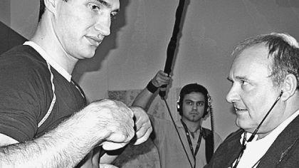 Auch die Klitschko-Brüder ließen sich von Dr. Walter Wagner untersuchen.