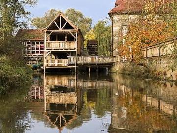 Frankens Idylle An Stillen Flussen Eckental Nordbayern