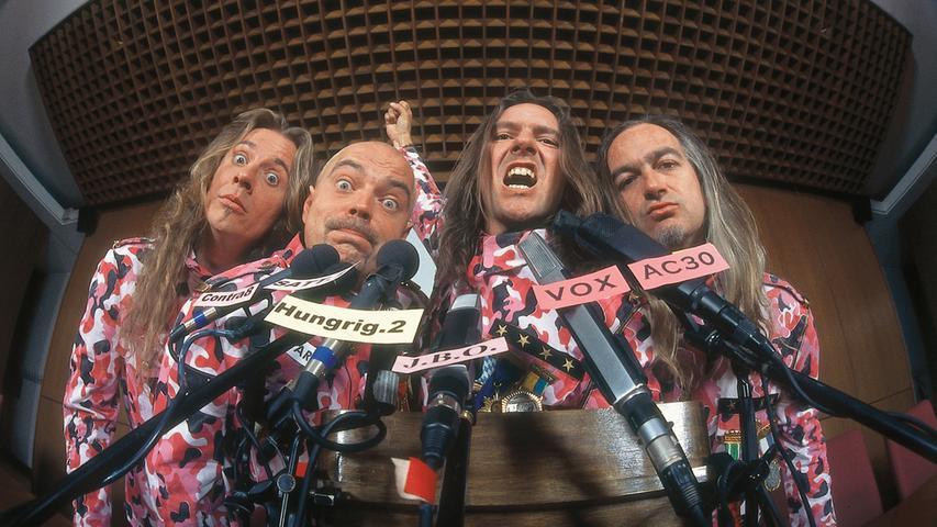 Die Rockgruppe J.B.O. aus Erlangen zählt zu den erfolgreichsten Musikexporten Frankens.