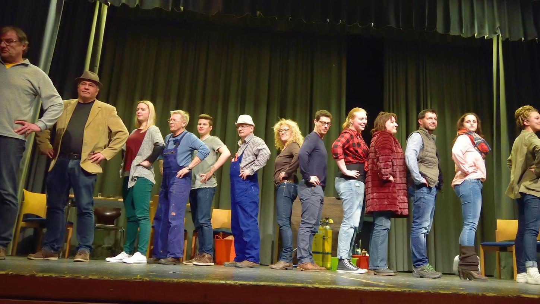 Die Rollen sitzen, das Ensemble hat sich während der intensiven Proben bestens vorbereitet auf die Premiere: Am Sonntag ist das neue Musical erstmals zu sehen.