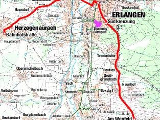 So ist die aktuelle Trasse der Stadt-Umland-Bahn geplant.