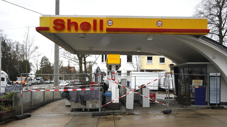 Klein, aber fein: Die Tankstelle an der Erlenstegenstraße 39 steht unter Denkmalschutz. Sie hat im September erst einmal ihren Betrieb eingestellt.
