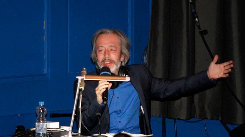 Dolmetscher Recai Hallac war der gefragteste Mann beim Festival.