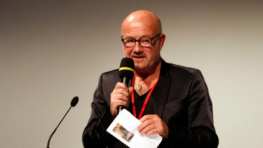 Jury-Mitglied und Regisseur Michael Aue ist seit 30 Jahren für die Medienwerkstatt Franken im Einsatz.