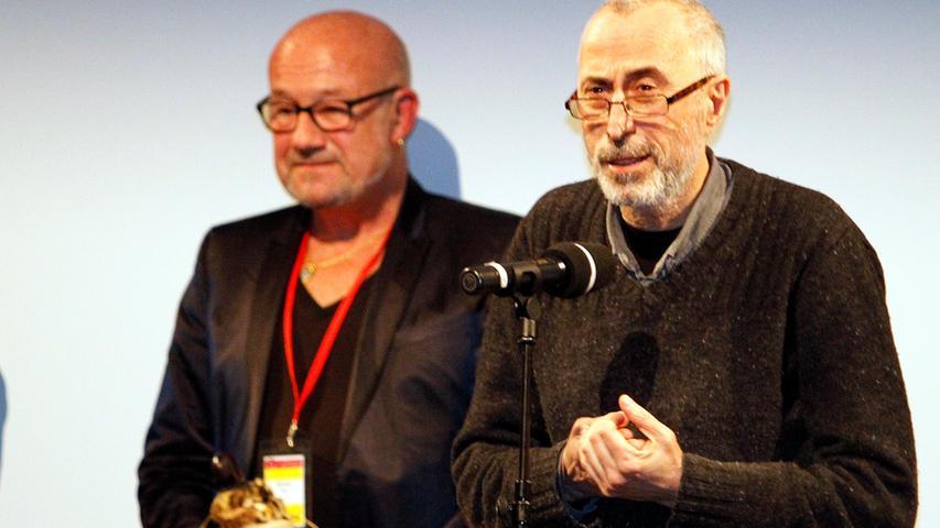 Regisseur Dito Tsintsadze (rechts) gewann für