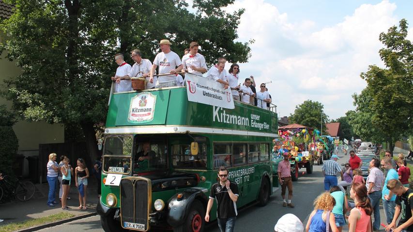 Das jährliche Highlight stellt für viele Unterasbacher die viertägige Kirchweih dar, die Menschen aus dem ganzen Landkreis anlockt.