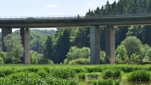 Demnächst beginnen an der A 3-Autobahnbrücke die Bauarbeiten.