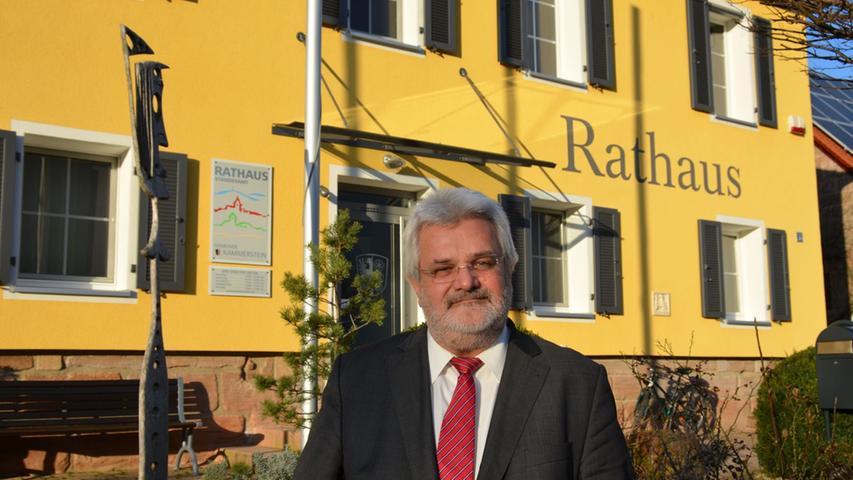 Walter Schnell hört auf, er steht 2020 in Kammerstein nicht mehr zur Wahl. Auf 24 Jahre im Amt bringt er es damit, 1996 wurde er Oberhaupt der Gemeinde.