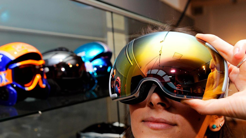 Auch moderne Exemplare der uvex-Skibrillen gehören zur Ausstellung im Stadtmuseum.