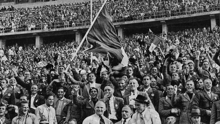 Die Olympiade 1936 in Berlin verhalf den Herzogenaurachern zum Durchbruch, denn zahlreiche Sportler trugen ihre Schuhe.