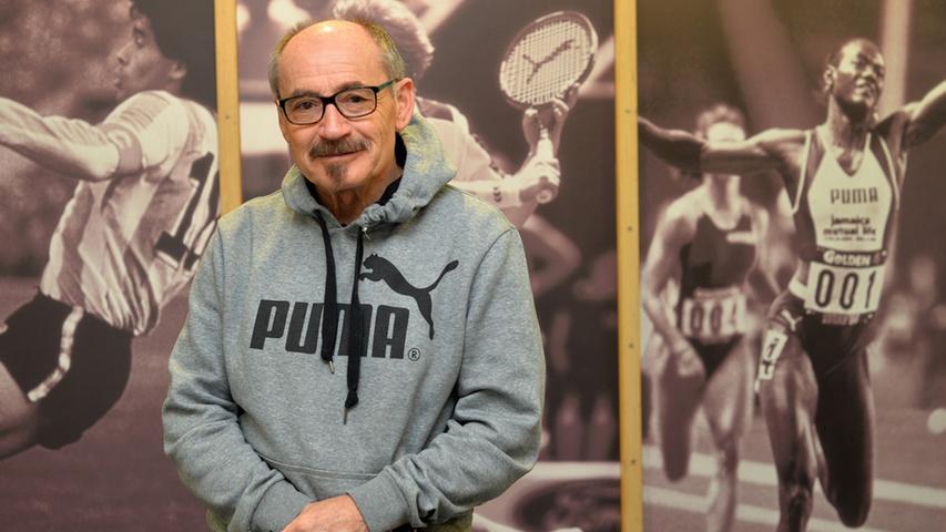 Helmut Fischer war ehemals Werbeleiter Deutschland bei Puma und hat uns einen Teil dieser historischen Fotos zur Verfügung gestellt.