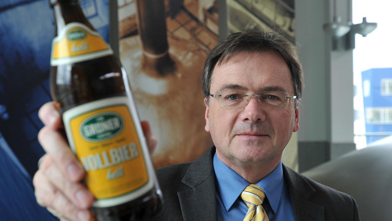 Kein Bier für rechtsextreme Gäste: So sieht es Tucher Bräu-Geschäftsführer Fred Höfler.