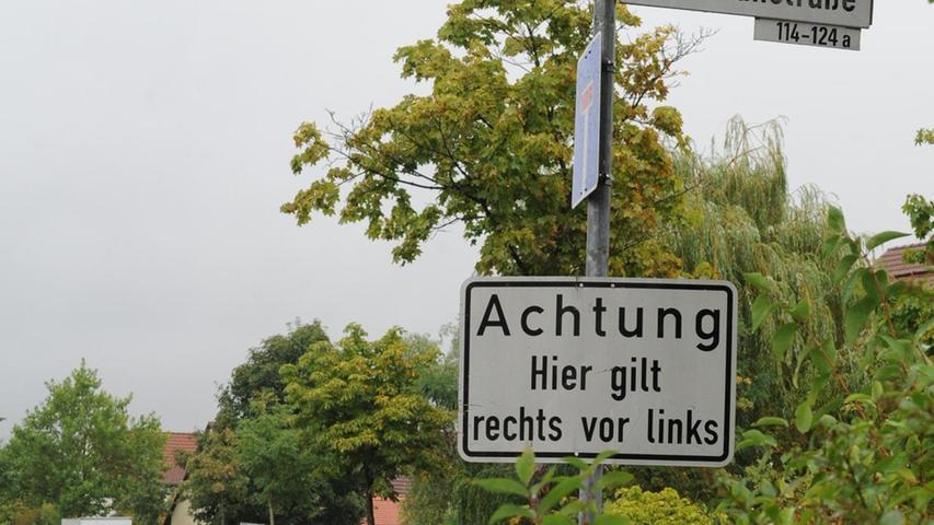 Zoff im Neumarkter Altenhof: Rechts vor links oder Vollgas
